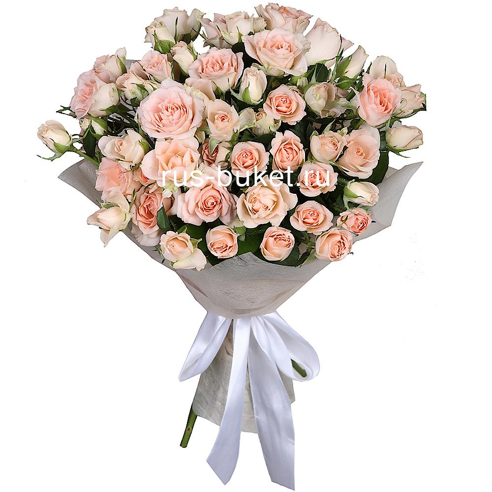 Розы кустовые купить в москве где можно купить подарок на 8 марта